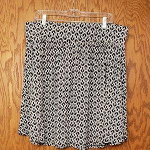 Lane Bryant knit skirt Sz 18/20